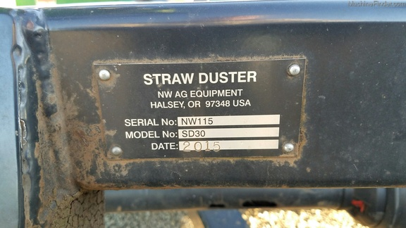 2015 Strawbuster SD30