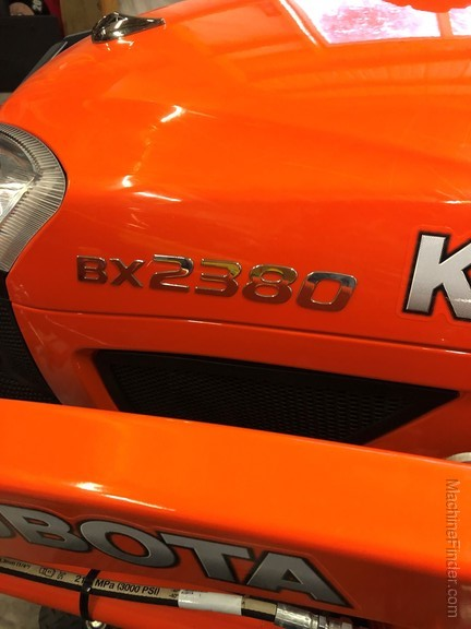 2017 Kubota BX2380