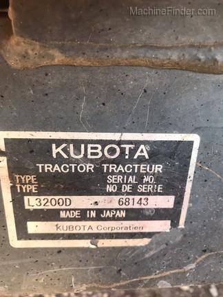 2012 Kubota L3200