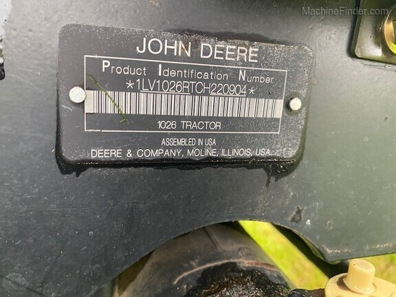 2012 John Deere 1026R