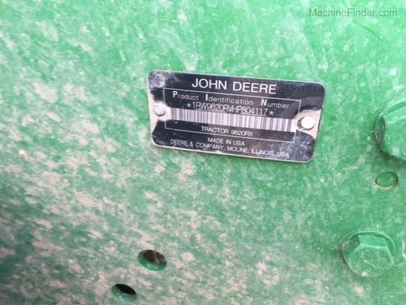 2017 John Deere 9620RX