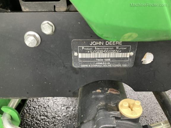2016 John Deere 1023E
