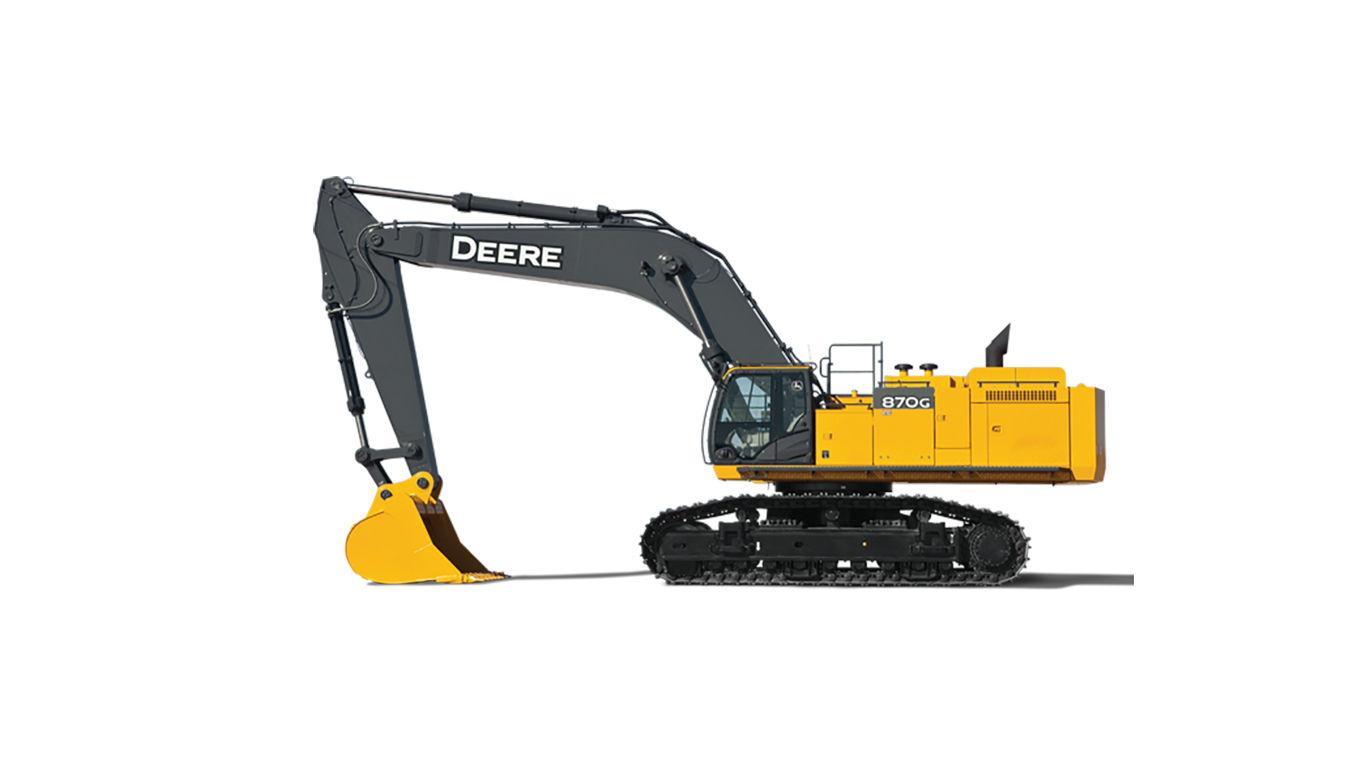 John Deere 870G LC