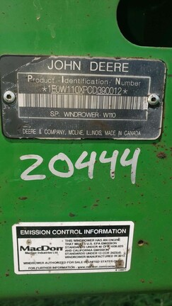 2013 John Deere W110