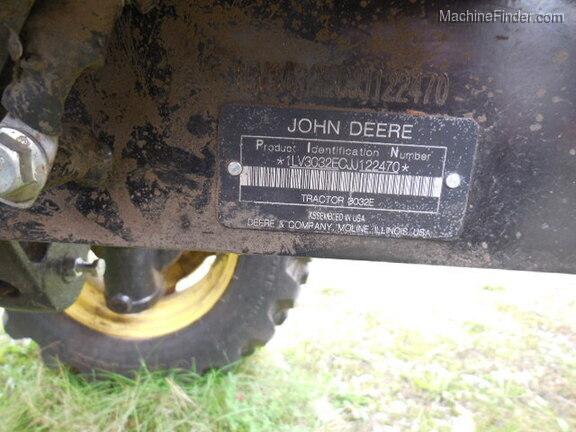 2018 John Deere 3032E