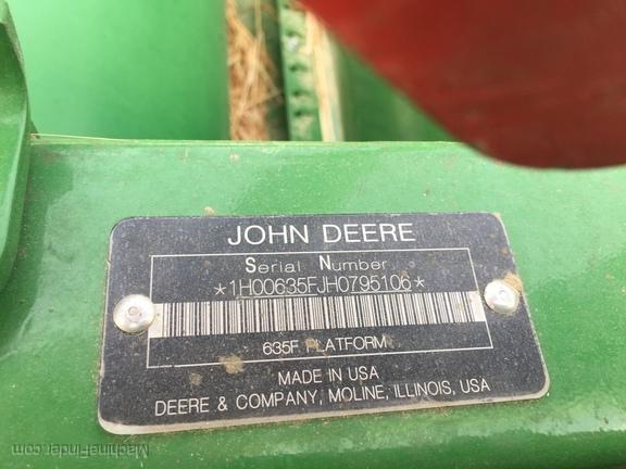 2017 John Deere 635F