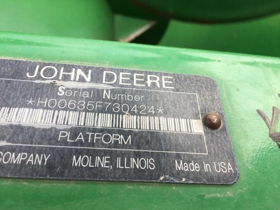 2009 John Deere 635F