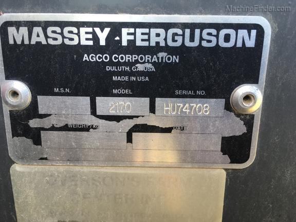 2009 Massey Ferguson 2170