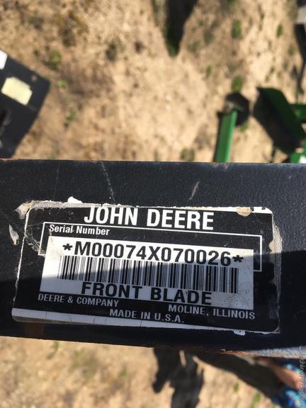 John Deere 74