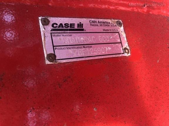 2011 Case 600