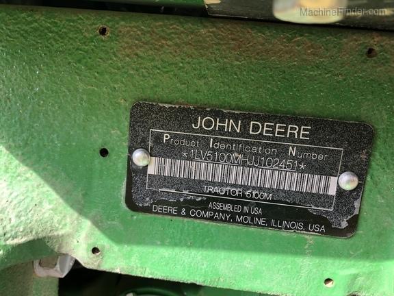 2018 John Deere 5100M