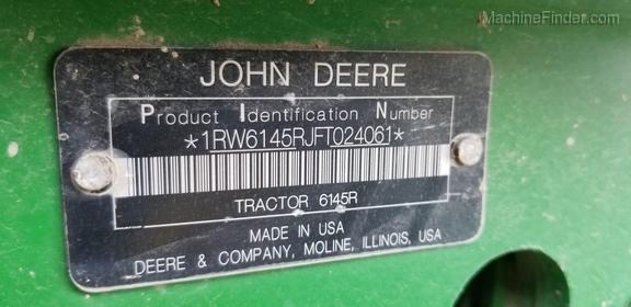 2016 John Deere 6145R