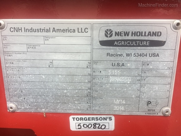 2014 New Holland SR240