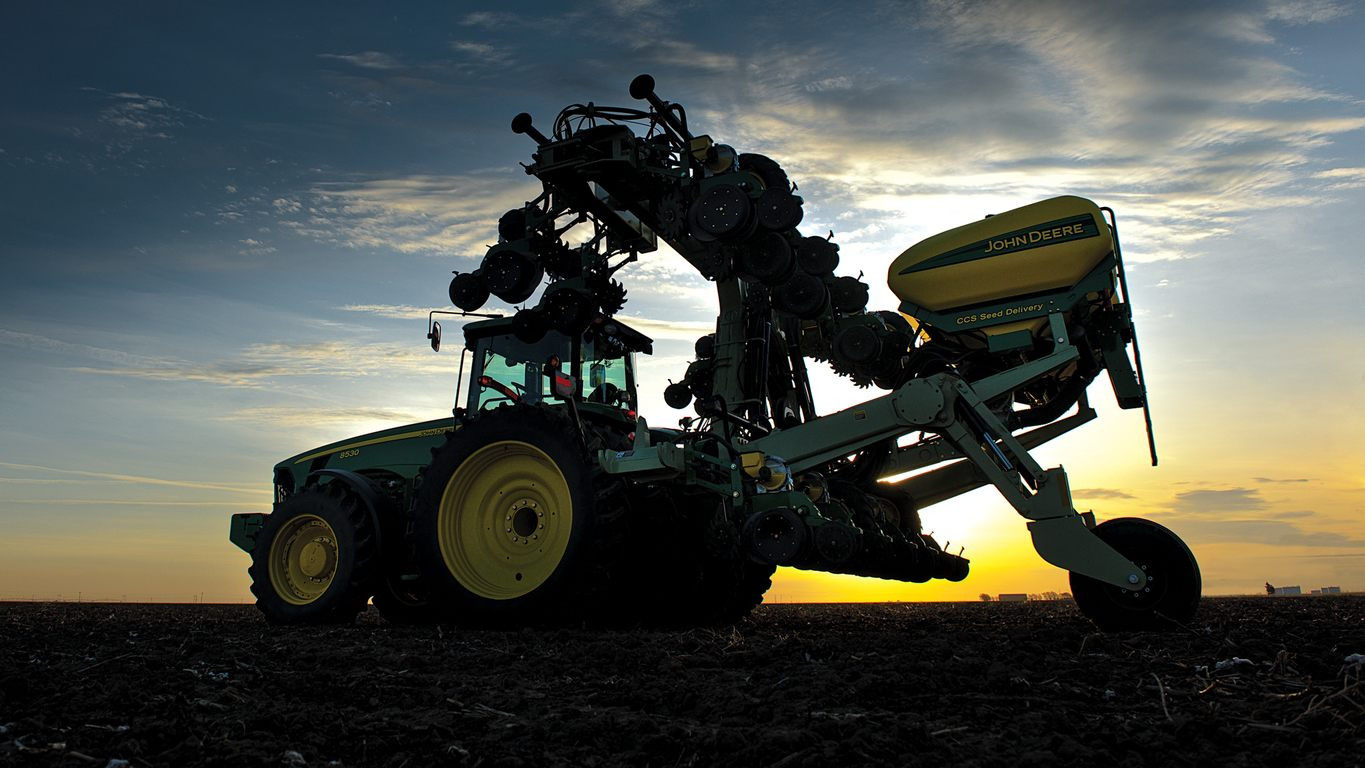 John Deere DR8 Twin Row