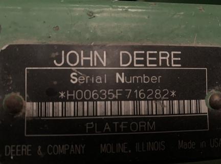 2007 John Deere 635F