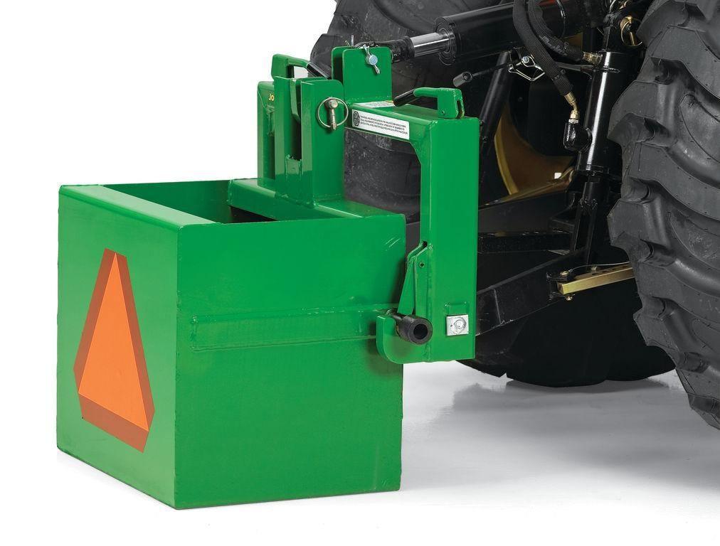 John deere tractor ballast calculator.