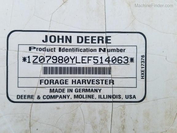 2015 John Deere 7980