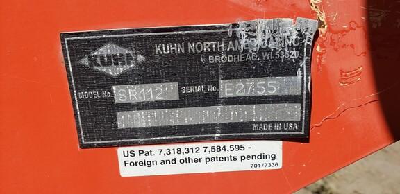 2018 Kuhn SR112