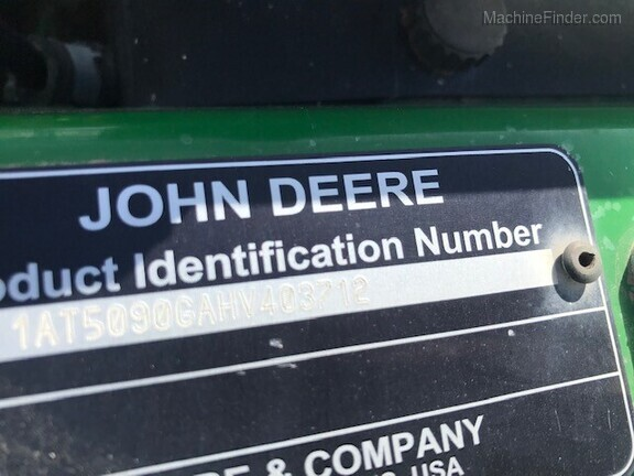2017 John Deere 5075GV