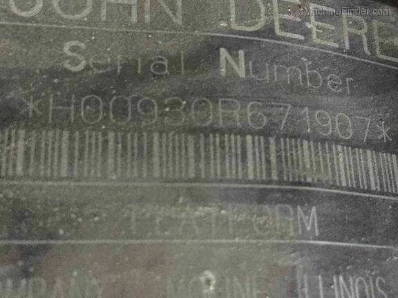 1997 John Deere 9600