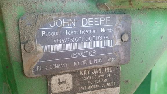 1992 John Deere 8960