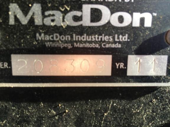 2011 Macdon M150