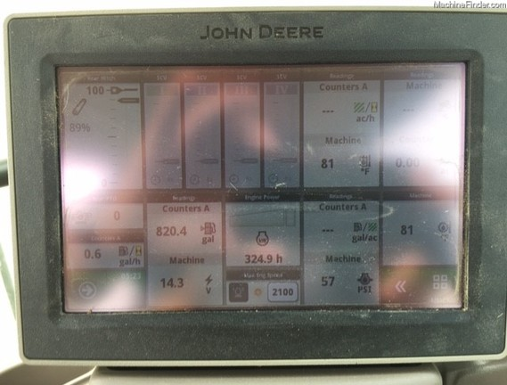 2017 John Deere 6110R