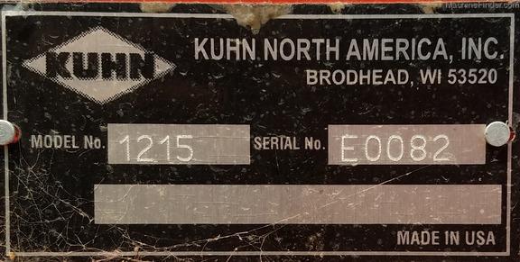 2016 Kuhn 1215