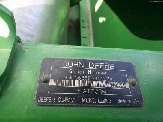 2005 John Deere 635F