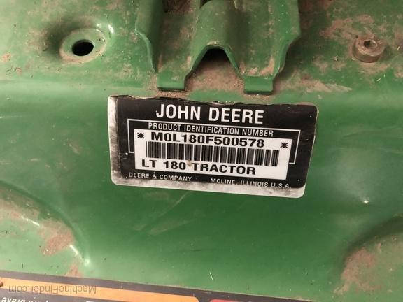 2004 John Deere LT180