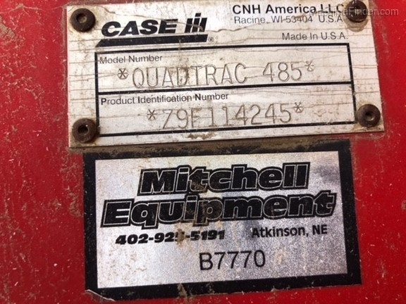 2009 Case 485