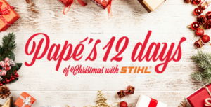 Pape's 12 Days of Christmas with STIHL