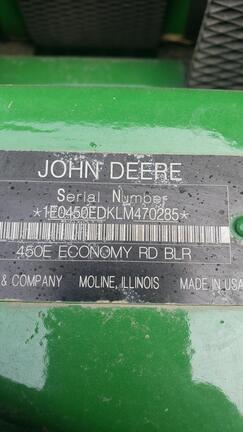 2021 John Deere 450E