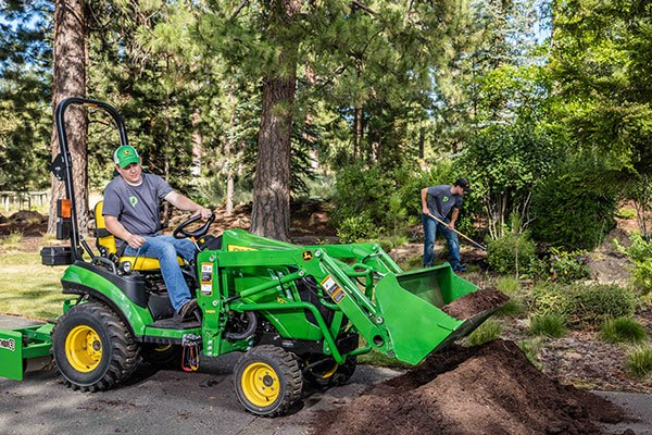 1025R John Deere Compact Utility Tractors 1 Family
