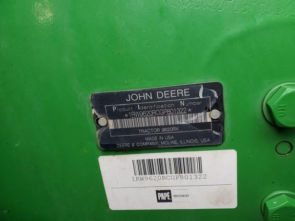 2016 John Deere 9620RX