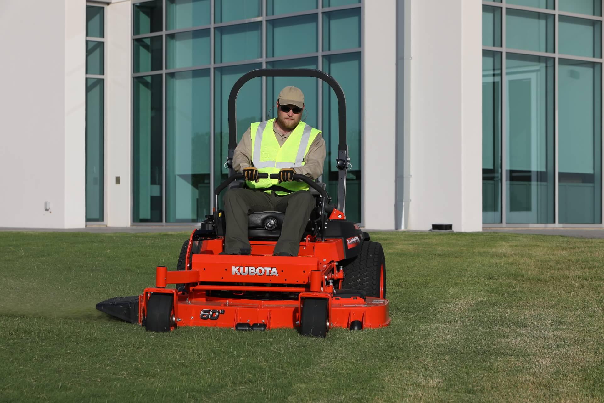 kubota zero-turn lawn mower