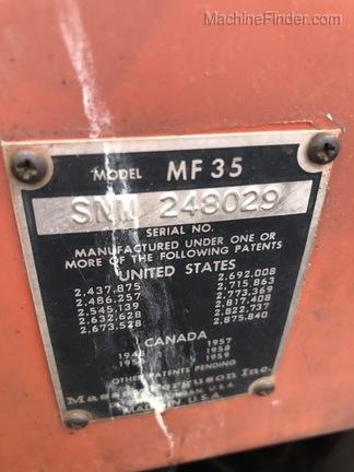 1964 Massey Ferguson 35