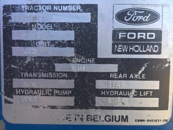 1991 New Holland 8730