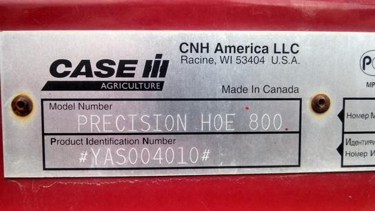 2011 Case 800