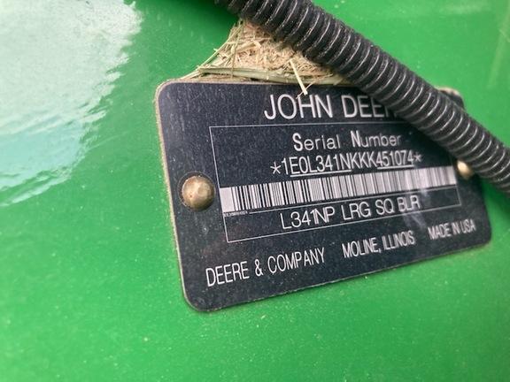 2019 John Deere L341