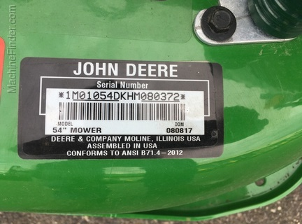 2017 John Deere 1023E