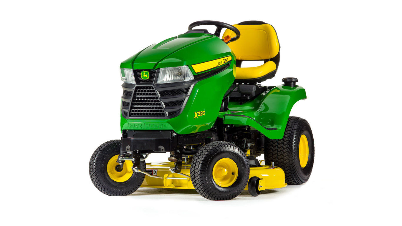 John Deere X330, 42-in. deck