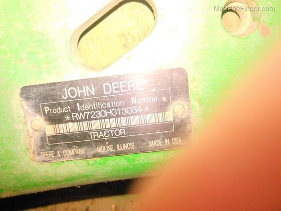 2009 John Deere 7230