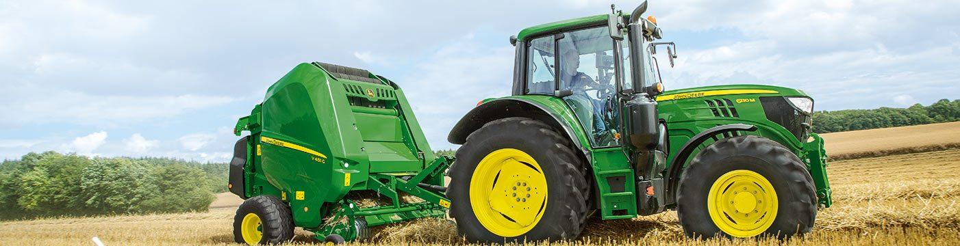 John Deere 6M Series Utility Tractors | Papé Machinery