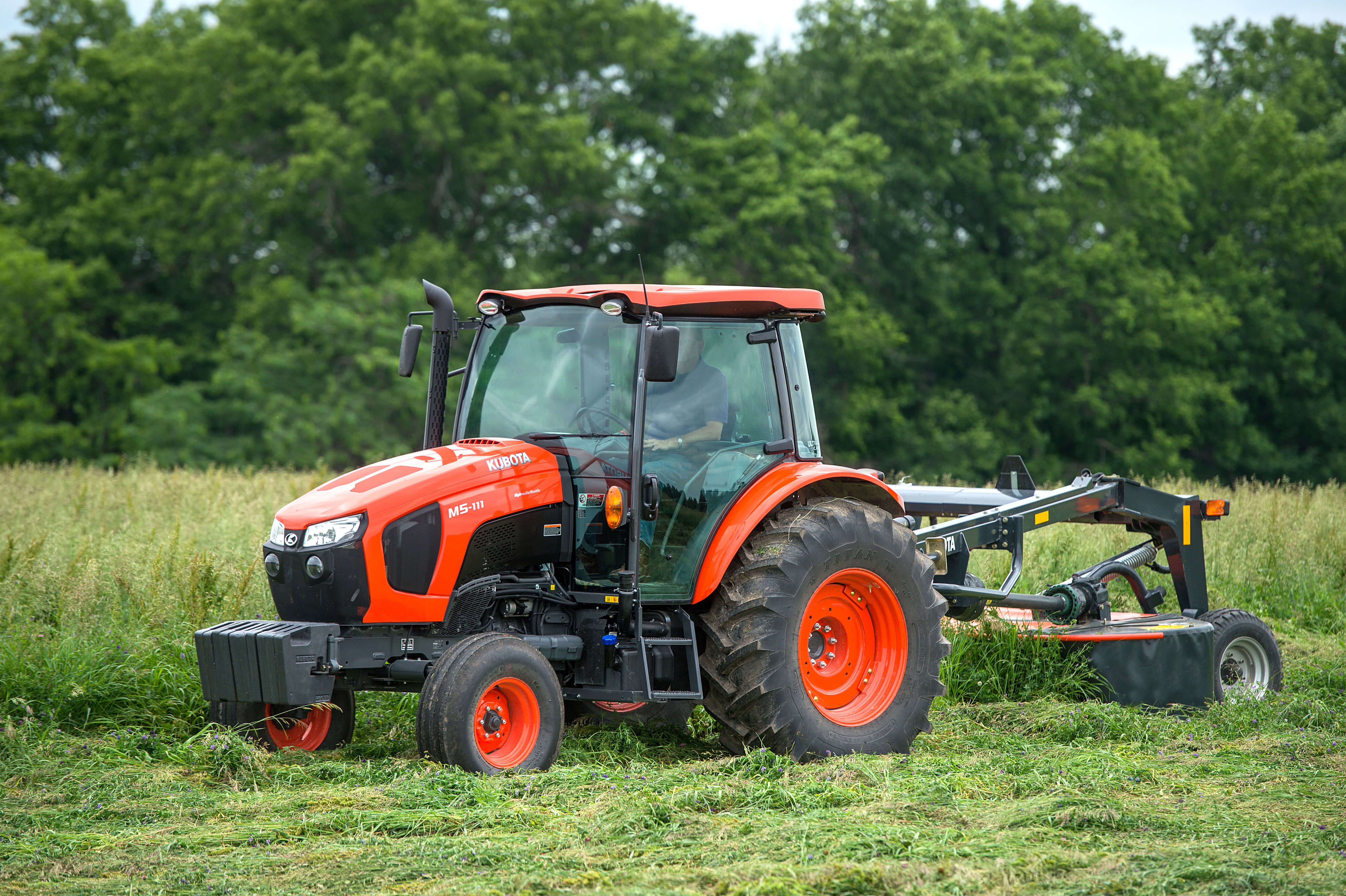 Used Kubota Tractors and attachments