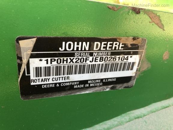 2014 John Deere HX20