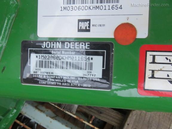 2017 John Deere 60D