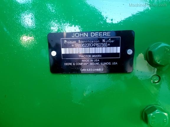 2019 John Deere 9620RX