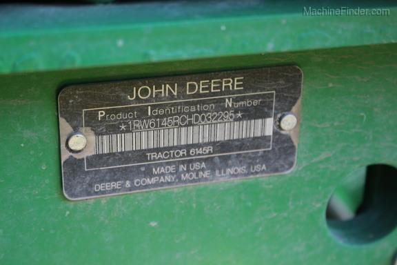 2018 John Deere 6145R