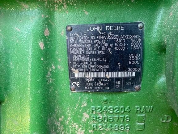 2010 John Deere 8295R